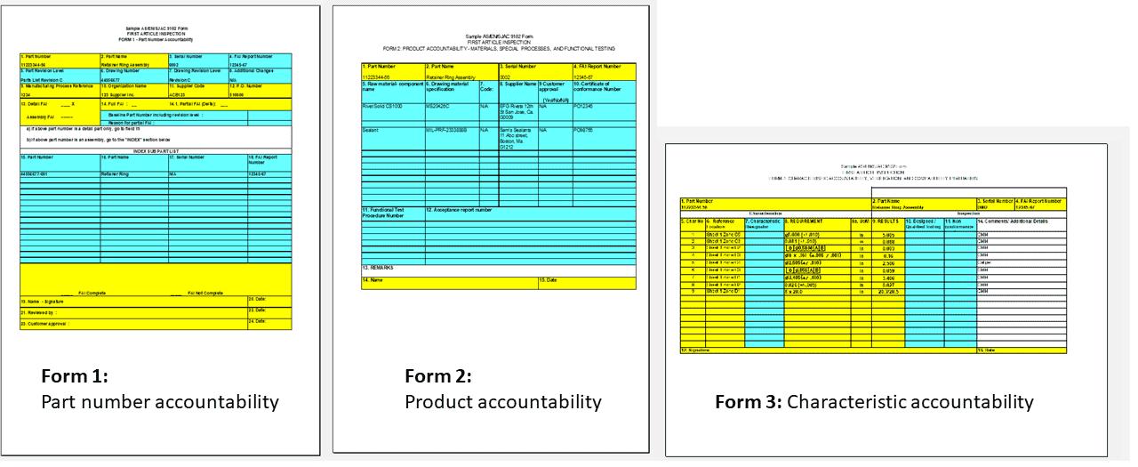 초도품 검사 Form1 Form2 Form3